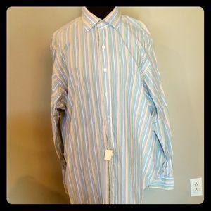 Nwt Ralph Lauren pastel striped dress shirt